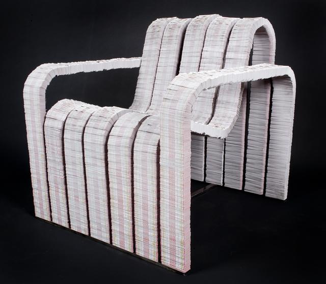 , 'Deuces Wild Chair,' 2010, Miller Gallery Charleston