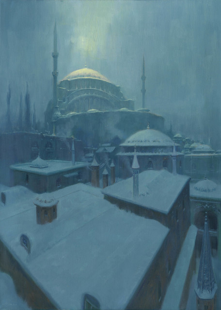 , 'Cold Constantinople,' 2016, Abend Gallery