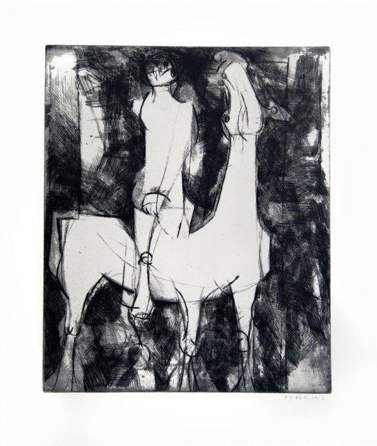 Marino Marini, ' The Idea of Knight', 1971, Wallector