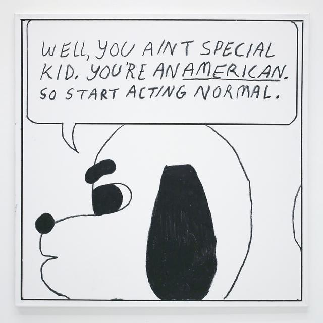 , 'Ben Jones Comics Panel #7 (Act Normal),' 2016, The Hole