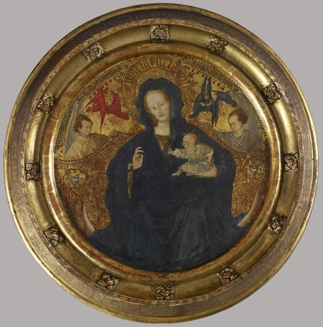 'Madonna with the Christ Child Writing', ca. 1410-1420, Walters Art Museum