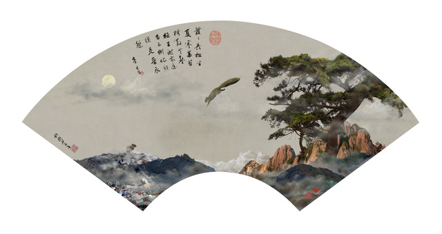 , ' Returning to the Woods in the Moonlight 素月依林图,' 2017, Art+ Shanghai Gallery