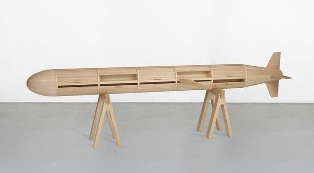 Los Carpinteros, 'Breadbox',  2004 madeira Edição: 5/5 87-6 x 312 x 46 cm, Sculpture, Wood, Almeida e Dale Galeria de Arte