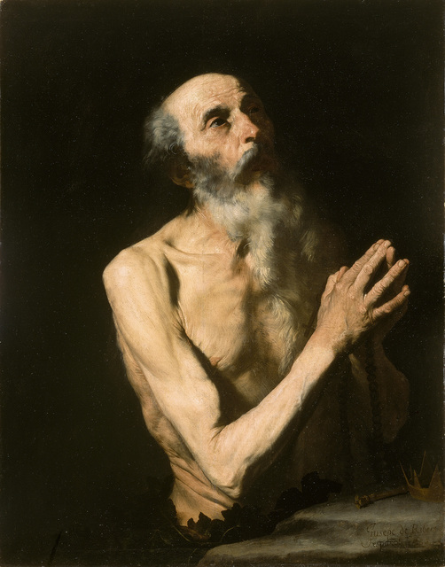 Jusepe de Ribera, 'Saint Onuphrius', ca. 1630, The National Gallery, London