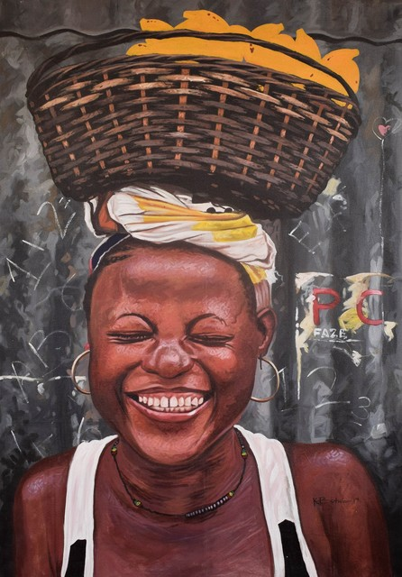 Kwesi Botchway, 'Blissful', 2019, TO LIVE IS TO CHOOSE