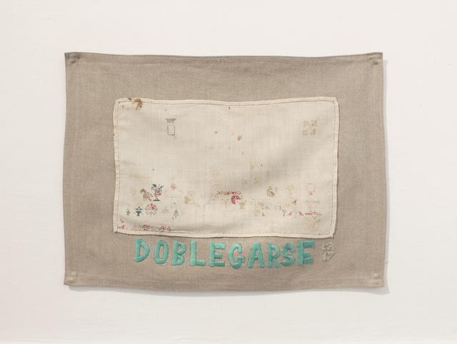 , 'Doblegarse,' 2017, MARSO
