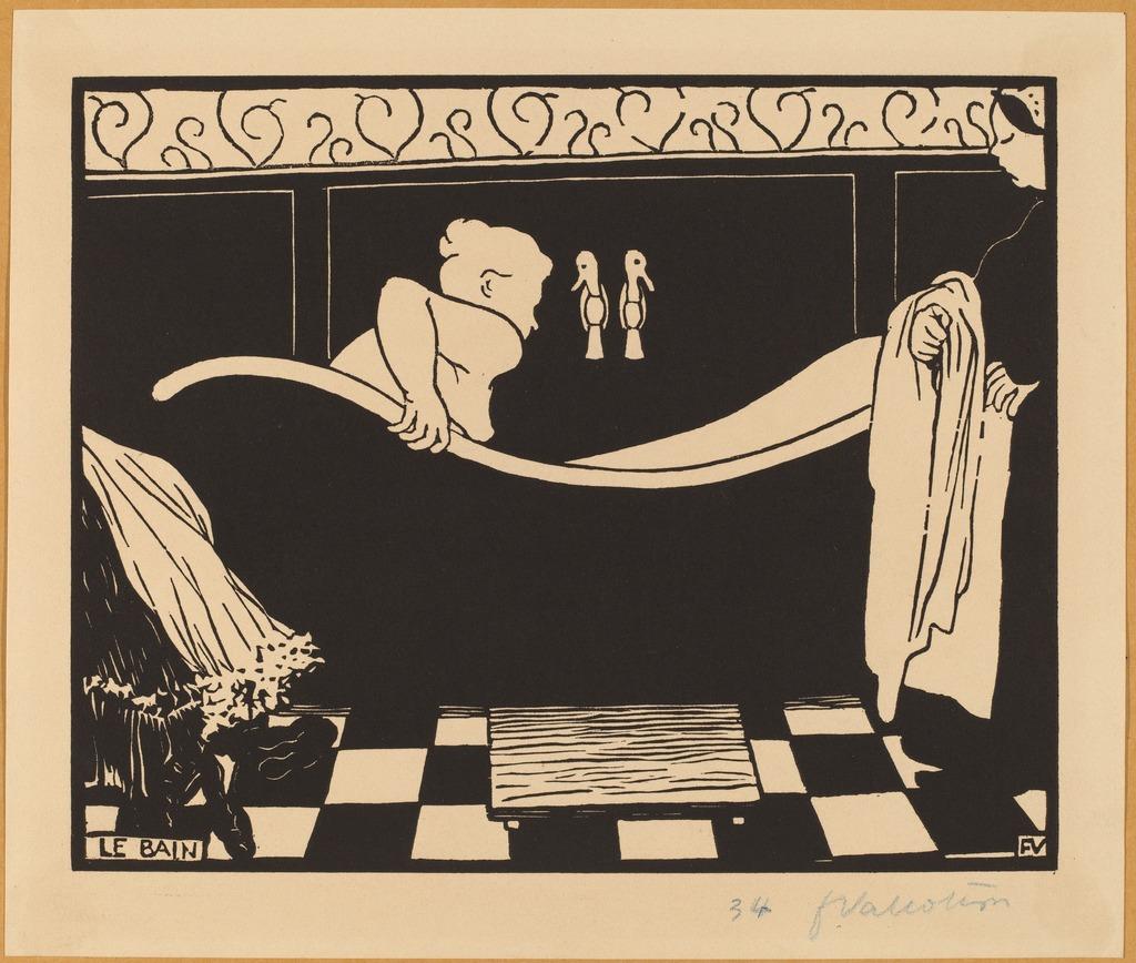 Félix Vallotton | Le Bain (The Bath) (1894) | Artsy