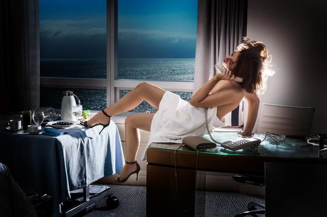 David Drebin, 'Room Service', 2018, Photography, Digital C-Print, Isabella Garrucho Fine Art