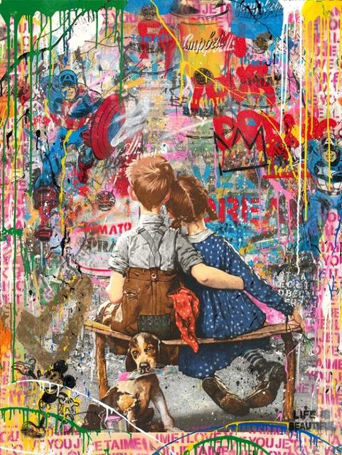 Mr. Brainwash, 'Work Well Together', 2018, Taglialatella Galleries