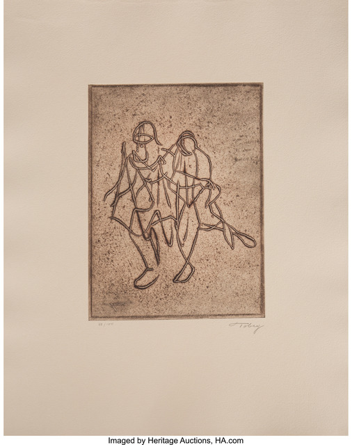 Mark Tobey, 'Companionship', 1974, Heritage Auctions