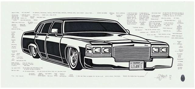 , '1981 Cadillac,' 2015, Black Book Gallery