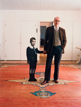 , 'Saul Steinberg, with himself as a little boy, New York,' 1978, Danziger Gallery