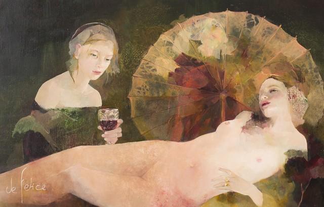 , 'Consolation de Liszt,' , Galerie Calderone