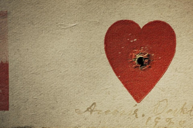 , 'Annie Oakley's Heart Target, Private Collection, Los Angeles, California,' 2010, Weinstein Gallery - Minneapolis