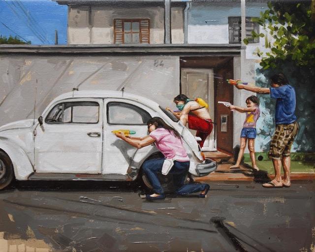 , 'Sem título (da série Intifada),' 2012, Galeria Superfície