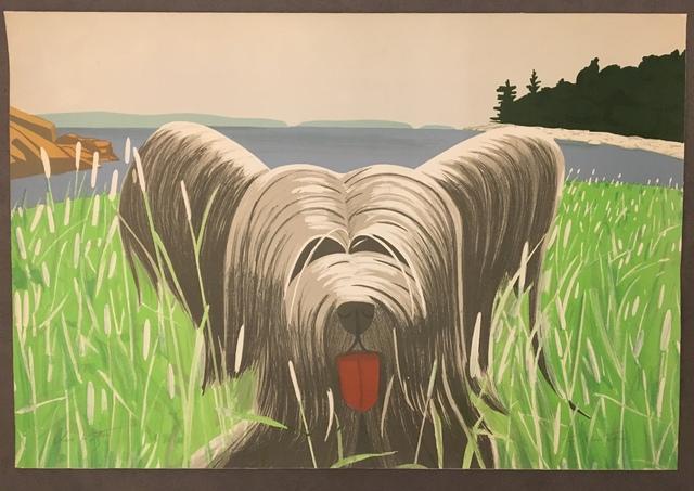 Alex Katz, 'Dog at Ducktrap', 1975, Galerie Céline Moine & LGFA