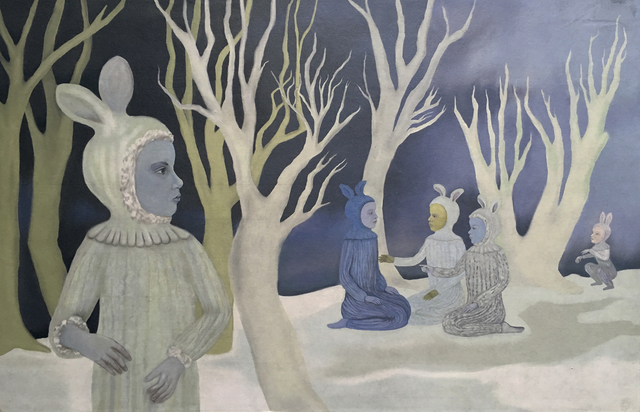 , 'Winter Gathering,' , Sparrow Gallery
