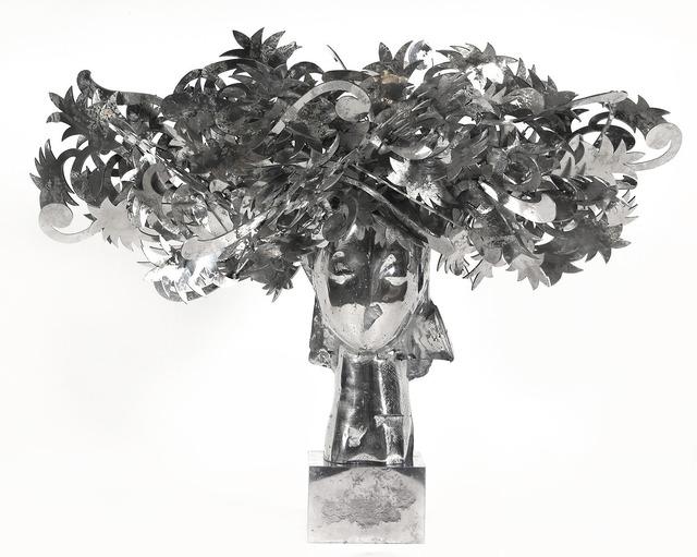 , 'Ada Cabeza Con Flores Plateadas,' 2010, Rosenbaum Contemporary