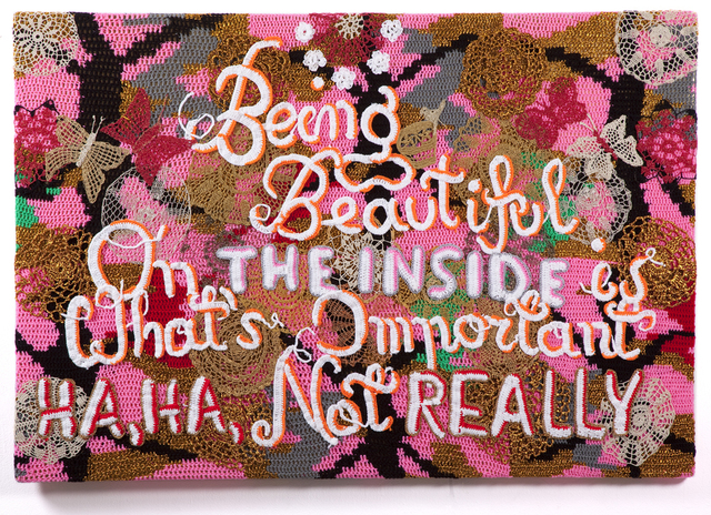 , 'Being Beautiful,' 2013, Jonathan LeVine Projects