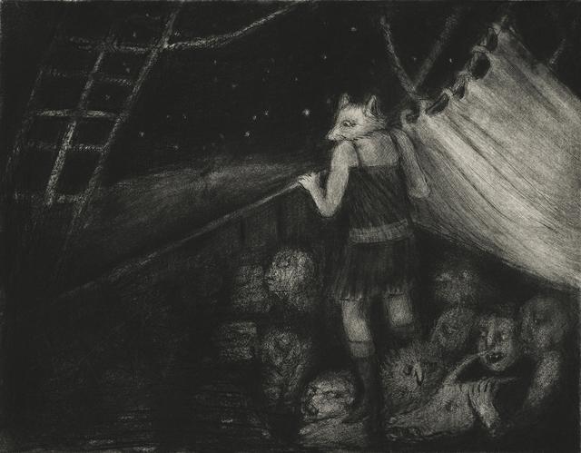, 'The Miraculous Journey of a Little Vixen I,' 2014, Pratt Contemporary