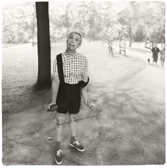 Sandro Miller, 'Diane Arbus / Child with a Toy Hand Grenade in Central Park, NYC, 1962', 2014, Fahey/Klein Gallery