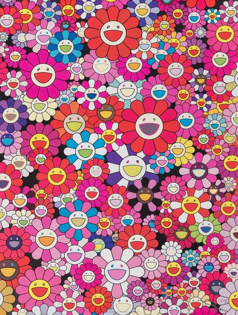 Takashi Murakami, 'An Homage to Monopink 1960 C', 2012, Print, Offset lithograph in colors on smoothe wove paper, Heritage Auctions