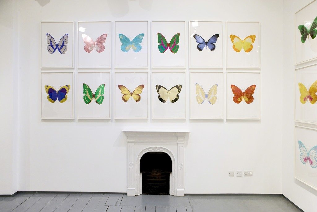 Installation, Damien Hirst - The Souls - September 01, 2011 - October 01, 2015