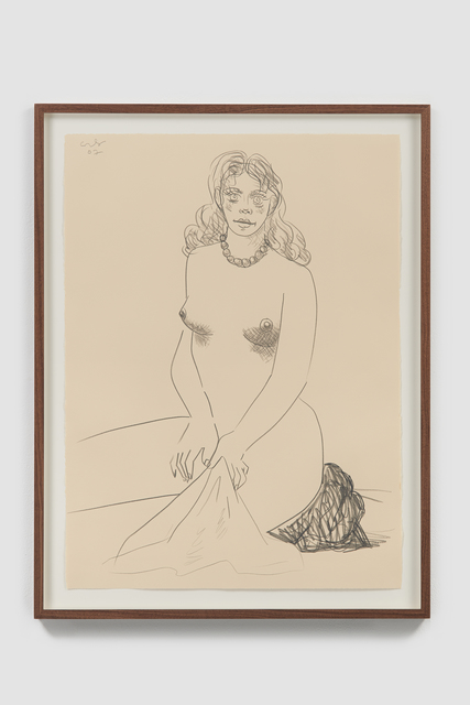 , 'Nude with Towel,' 2007, Helwaser Gallery