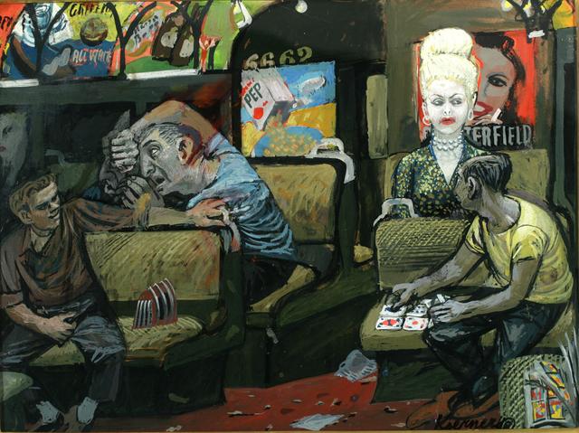 , 'The Subway,' 1947, ACA Galleries