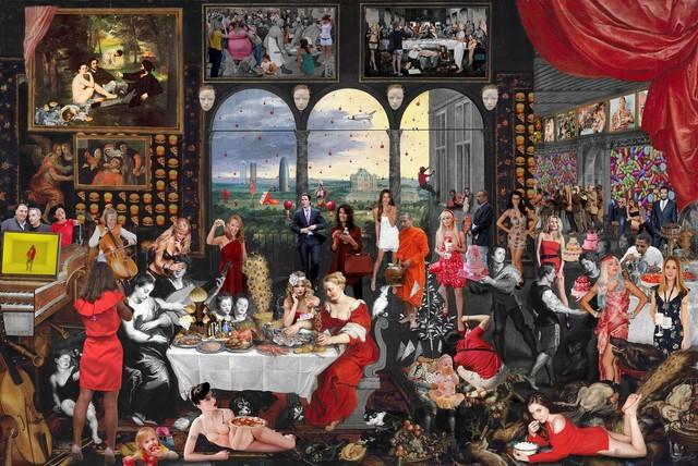 , 'Taste. Jan Brueghel & Peter Paul Rubens,' 2016, Cynthia Corbett Gallery