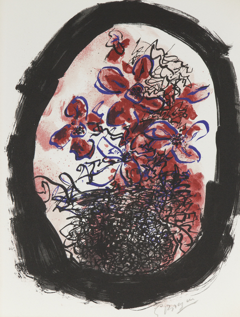 """Georges Braque, 'Frontice Piece for """"Braque Lithographe""""', 1961, Print, Lithograph in colors, Heather James Fine Art Gallery Auction"""