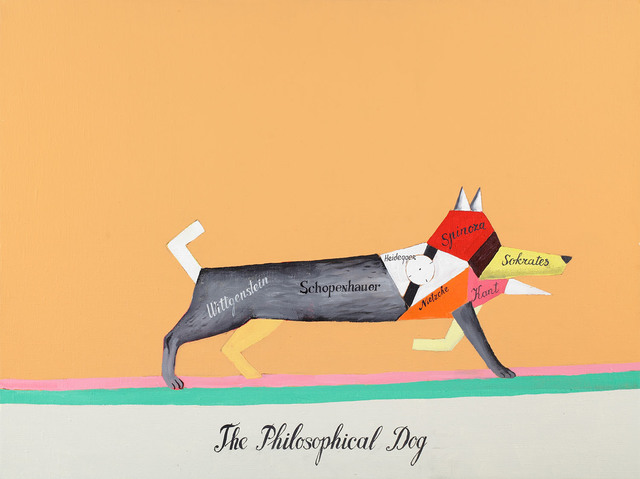 , 'The Philosophical Dog,' 2011, XL Gallery