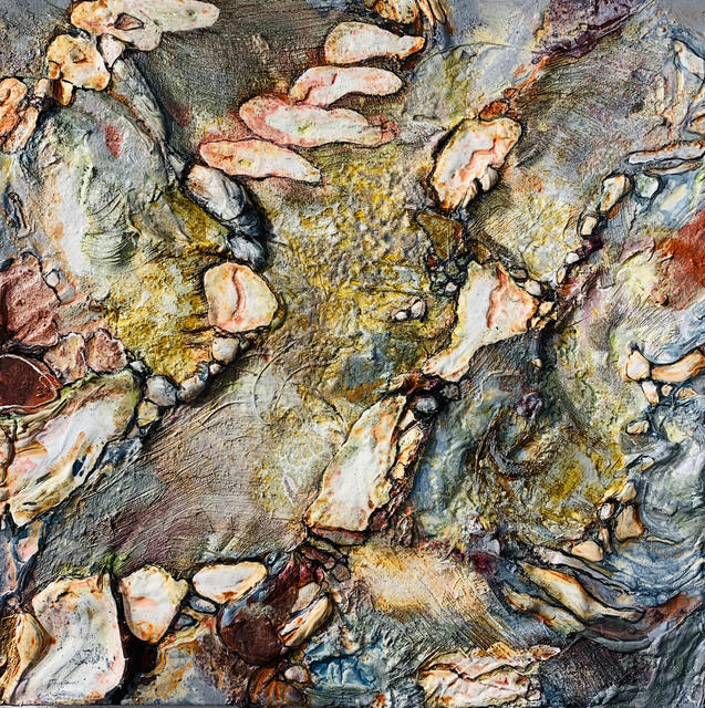 Gilbert Salinas, 'Untitled 1', 2019, Mixed Media, Mixed Media on canvas, Alessandro Berni Gallery