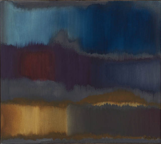 , 'Grau-Blau,' 1964, Ludorff