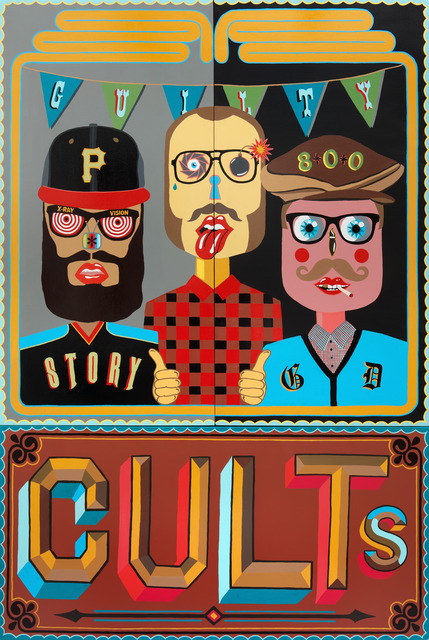 , 'Cults,' 2013, Circle Culture