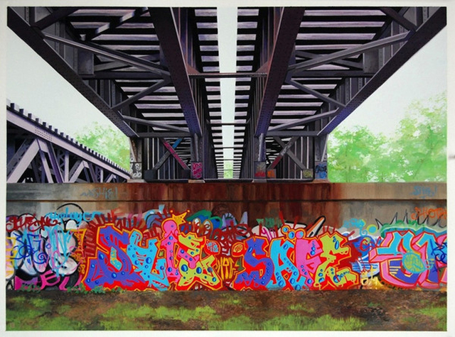 , 'Pittsfield Tracks III,' 2012, Hashimoto Contemporary