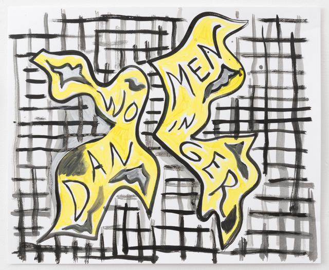 , 'Women in Danger (Yellow),' 2017, Night Gallery