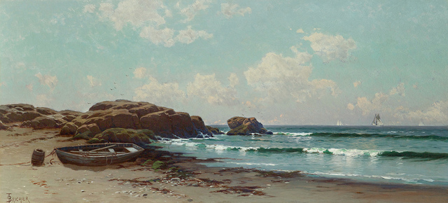 Alfred Thompson Bricher, 'Afternoon by the Ocean', Late 19th century, Questroyal Fine Art