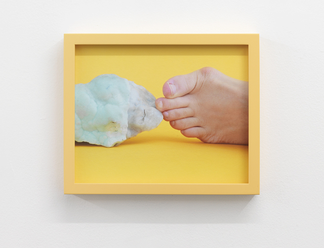 , 'Triangle Foot Hemimorphite hold,' 2018, Wil Aballe Art Projects | WAAP