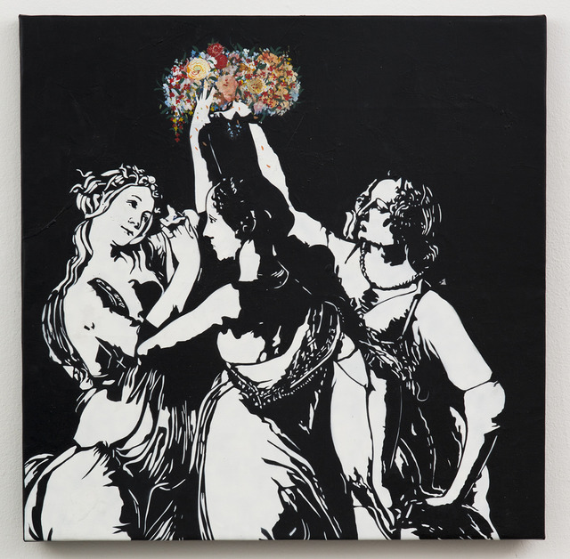 , 'Les Trois Graces,' 2013, Jonathan LeVine Projects