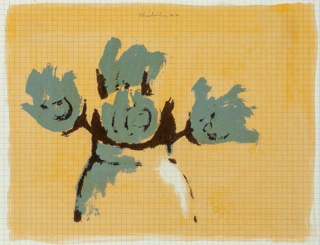 Robert Kulicke, 'Dum-dum Roses, from the New York Ten portfolio', 1964, Heritage Auctions