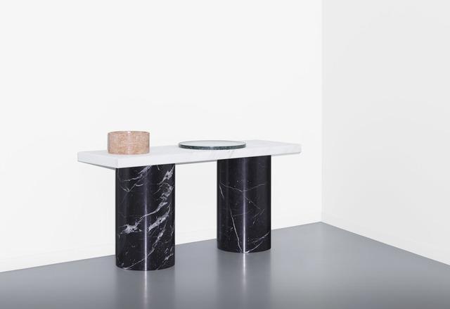 , 'Lines & Waves, table 2,' 2014, Victor Hunt Designart Dealer