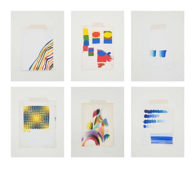 , 'Homenagem - Teste de cores imaginário,' 2017, Galeria Leme