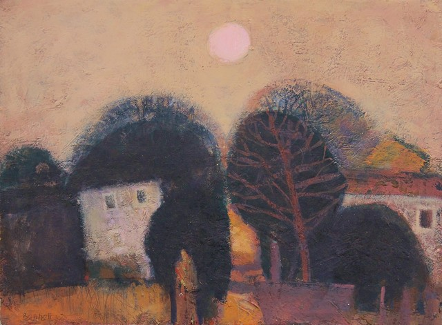 , 'Cottages West Cumbria ,' ca. 2010, Castlegate House Gallery