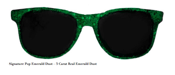 , 'Signature Pop Emerald Dust – 3 Carat Real Emerald Dust,' , ART CAPSUL