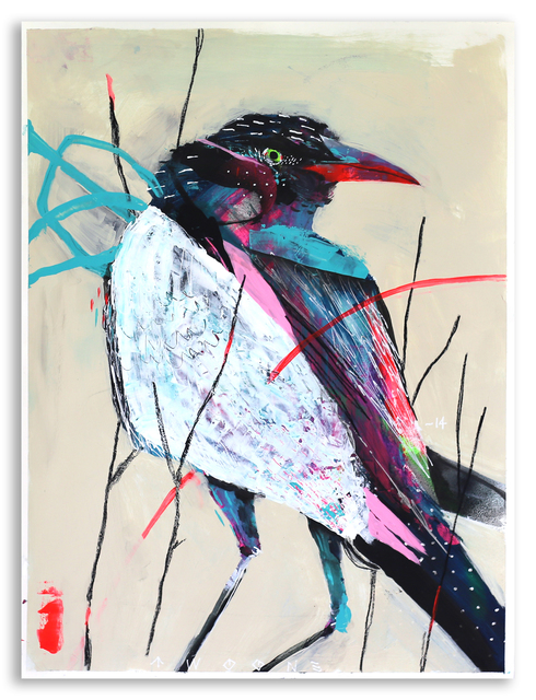 , 'This Is A Black Crow,' 2014, StolenSpace Gallery