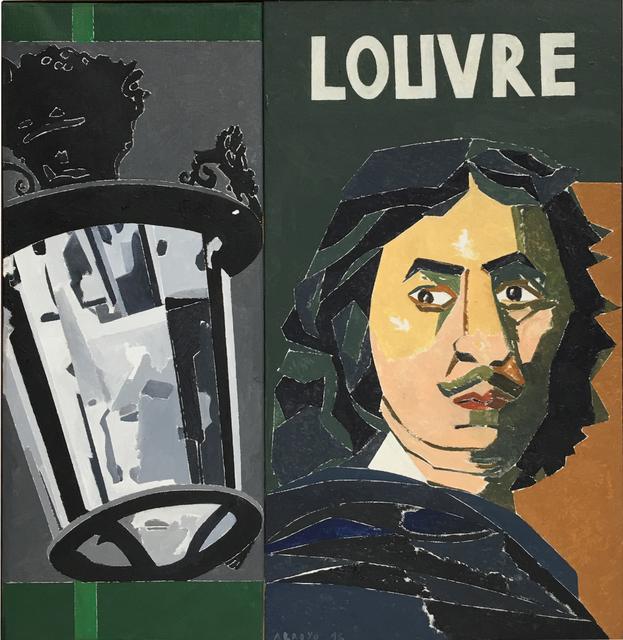 , 'Poussin au Louvre,' 2016, Álvaro Alcázar