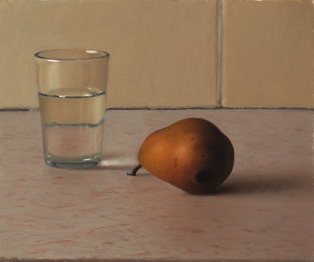, 'Glass of Water and Pear,' 2013, Zemack Contemporary Art