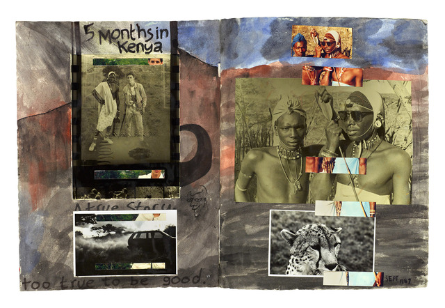 Dan Eldon, '5 Months in Kenya', 2017, Trotta-Bono Contemporary