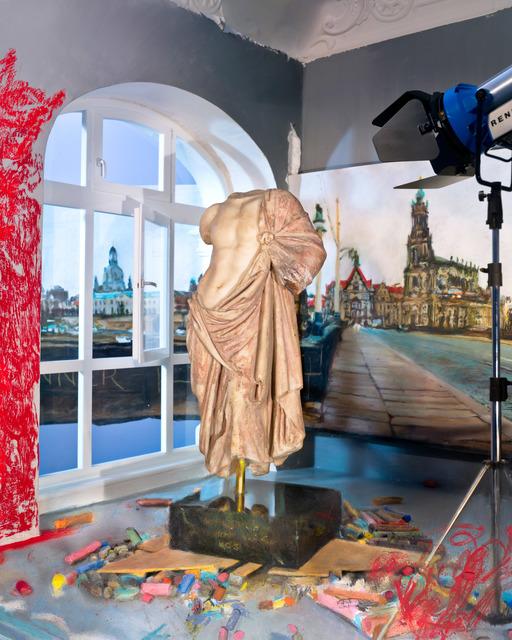 Lois Renner, 'Der rote Mantel (The Red Cloak)', 2012, Mario Mauroner Contemporary Art Salzburg-Vienna